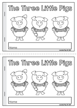 The Three Little Pigs Worksheets and Activities