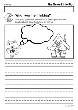 photograph relating to Three Little Pigs Printable called The A few Minor Pigs Worksheets and Routines
