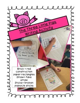 The Three Little Pigs Writing Activity