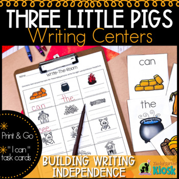 Three Little Pigs Independent Writing Practice