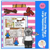 The Three Little Pigs a Sequencing Craft