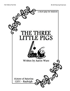 The Three Little Pigs - a short play for students