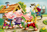 The Three Little Pigs and the Big Bad Wolf Reader's Theate
