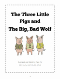 The Three Little Pigs and the Big Bad Wolf - Story