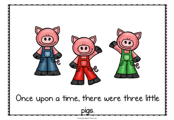 The Three Little Pigs powerpoint story