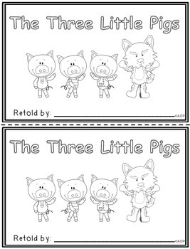 The Three Little Pigs (student retelling book)