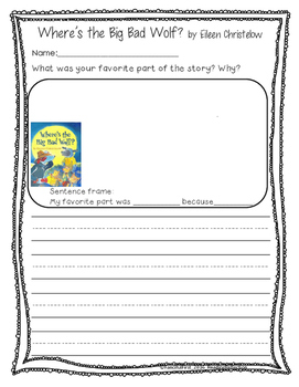 """The Three Little Pigs """"themed"""" Stories - Farm Theme"""