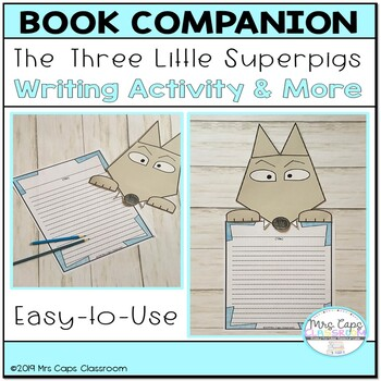 The Three Little Superpigs Book Companion 2nd & 3rd Grade