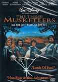 The Three Musketeers DVD