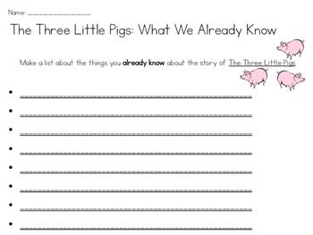 The Three Ninja Pigs Mini-Unit