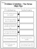 The Three Ninja Pigs - Problem & Solution Worksheet