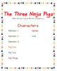 Readers' Theater Script & MORE! -  The Three Ninja Pigs - Fluency - CCSS