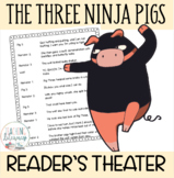 Readers' Theater Script & MORE! -  The Three Ninja Pigs -