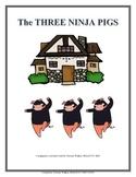 The Three Ninja Pigs Speech-Language Book Companion #mar17slpmusthave
