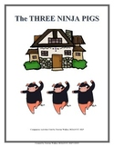 The Three Ninja Pigs Speech-Language Book Companion #mar17