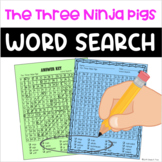The Three Ninja Pigs Word Search