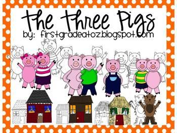 The Three Little Pigs Clip-Art