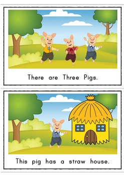 The Three Pigs Easy Reader Guided Reading Kit Fairy Tales Emergent Reader