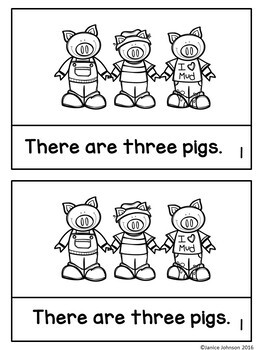 The Three Pigs Reader ~ Simplified for Young Readers