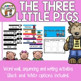 The Three Pigs Word Wall, Sequencing and Writing Activity Packet