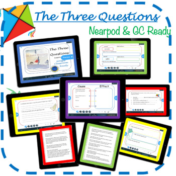 """""""The Three Questions"""" by Jon Muth- Lesson Plan -Grades K-3"""