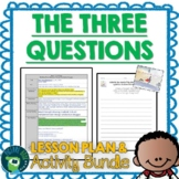 The Three Questions by Jon Muth Lesson Plan and Google Activities