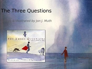 Three Questions | Collaborative Conversations | Tier 2 Vocabulary | Text Talk