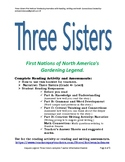 The Three Sisters: First Nations of North America's Garden