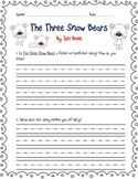 The Three Snow Bears Questions