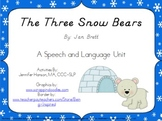 The Three Snow Bears Speech and Language Companion Pack