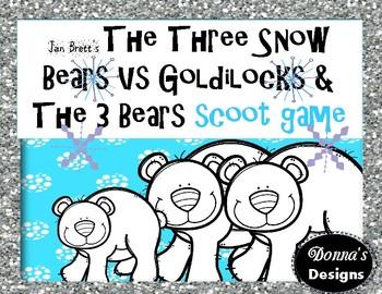 The Three Snow Bears VS Goldilocks and the Three Bears