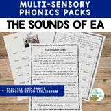 Vowel Digraph: EA Practice | Orton-Gillingham Multisensory