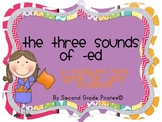 The Three Sounds of -ed Classroom Scavenger Hunt