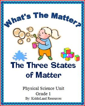 The Three States of Matter Unit Plan