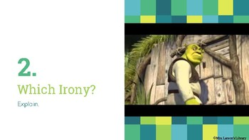 The Three Types of Irony with Video Clips!