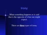 The Three Types of Irony