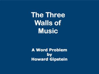 The Three Walls of Music