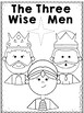 The Three Wise Men Coloring Pages and Letter (English & Spanish)
