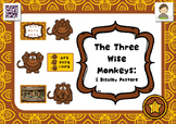 The Three Wise Monkeys : 5 display posters