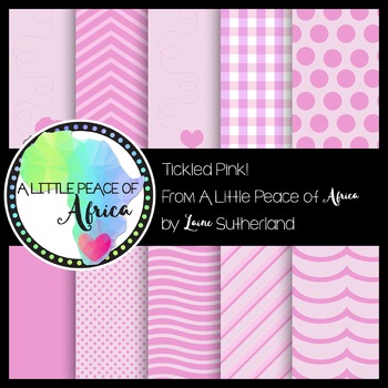 The Tickled Pink Paper Collection