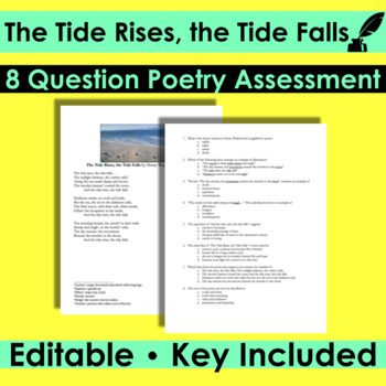 henry wadsworth longfellow the tide rises the tide falls analysis
