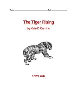 The Tiger Rising  A Novel Unit
