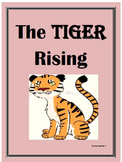 The Tiger Rising: Close Reading Questions and Answers