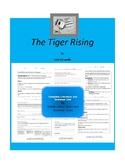 The Tiger Rising Complete Literature and Grammar Unit