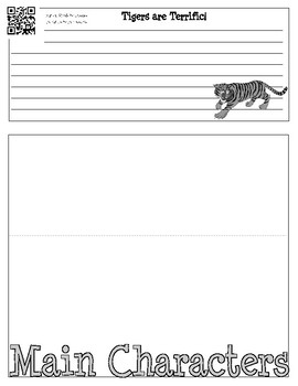 The Tiger Rising Foldable Graphic Organizer Book Project