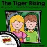 The Tiger Rising Novel Study: vocabulary, comprehension, writing, skills