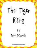 The Tiger Rising Literature Study: Activities, Tests, Vocabulary, Projects, More
