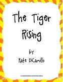 The Tiger Rising Literature Study: Activities, Tests, Voca