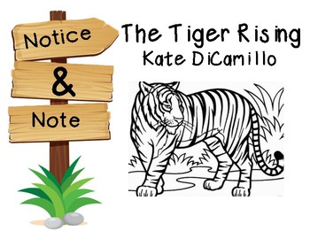 Notice and Note Signpost Guide: The Tiger Rising
