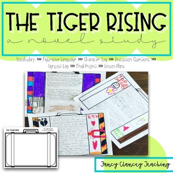 Tiger Rising Lessons Worksheets Teaching Resources TpT